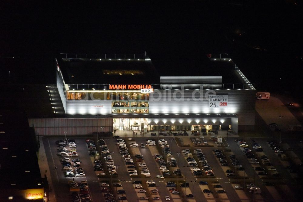 Nachtluftbild Eschborn Nachtluftbild Gebäude Des Einrichtungshaus