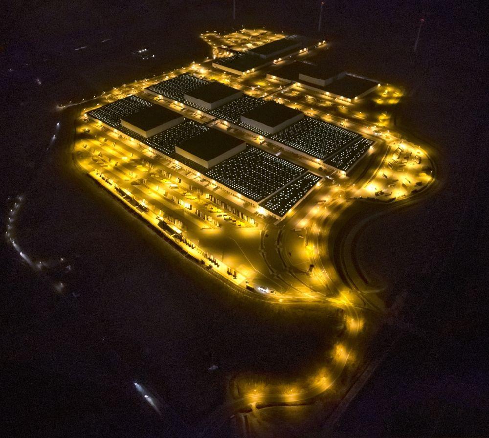 Nacht Luftaufnahme Dortmund Nacht Luftbild Der Europazentrale